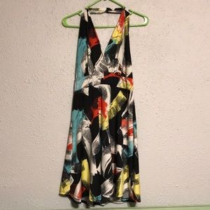Venus colorful halter dress